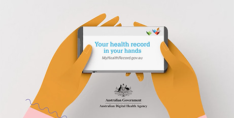 Australians have until October 15 to opt out of the system (My Health Record website)