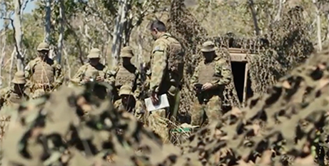 An army chaplain in the field (YouTube/Defence Jobs Australia)