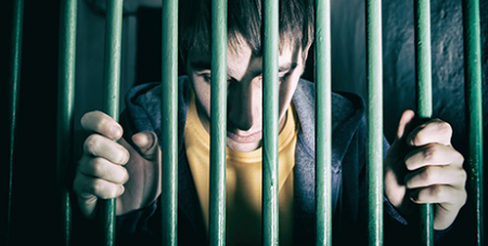 The report found young people are not adequately being rehabilitated in detention (Bigstock)
