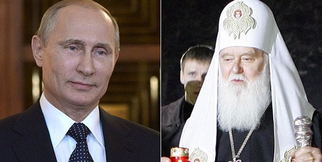 Putin and Ukraine Patriarch