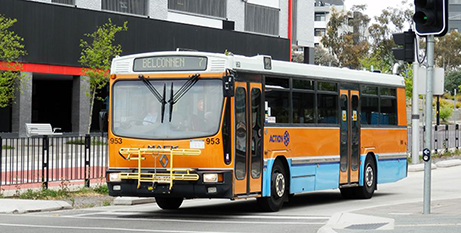 Under the proposed changes 14 dedicated bus routes will be cut to five (ABC News/Kathleen Dyett)