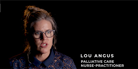 Lou Angus (Lou Angus/Palliative Care Awareness Campaign)