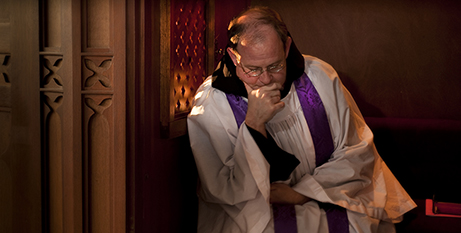 Archbishop Denis Hart says protections for confession should be respected (CNS)