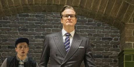 Colin Firth against type