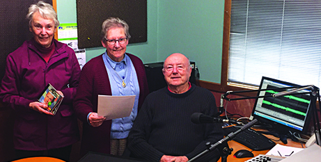 Pat Martlew and Sr Elizabeth Morris with Barrie Hayman from 5TCB (Hamish Ferguson)