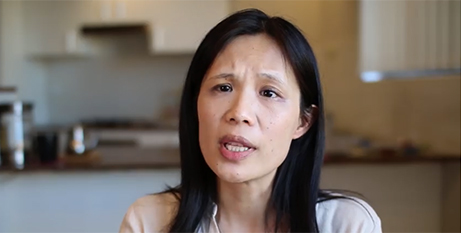 Dr Pansy Lai of the Coalition for Marriage ad (Coalition for Marriage)