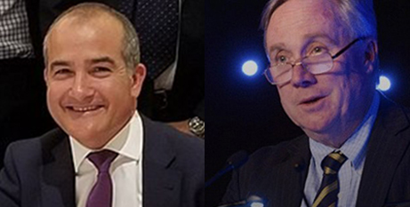 James Merlino and Stephen Elder (Wikipedia and CEM)