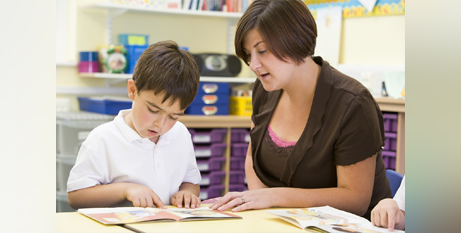 The phonics check has been credited with boosting literacy in Britain (Bigstock)