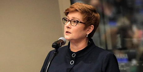 Foreign Minister Marise Payne (Facebook/Marise Payne)