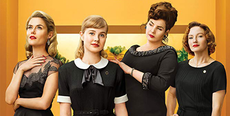 Rachael Taylor, Angourie Rice, Julia Ormond and Alison McGirr in Ladies in Black (IMDB)