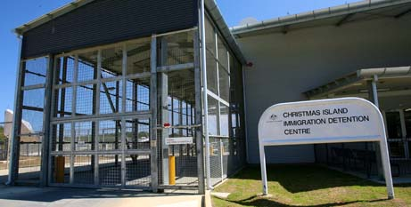 The now-closed Christmas Island Immigration Detention Centre (WikiCommons)