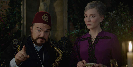 Jack Black and Cate Blanchett in The House With a Clock on the Wall (IMBD)
