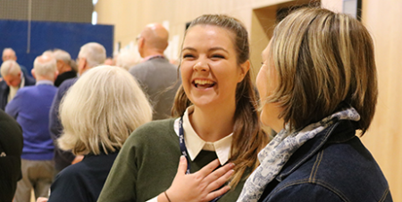 Young adults were among the 180-strong crowd at the Marist Assembly (Marist Association)