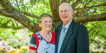 Debbie and Phillip Collignon (The Catholic Weekly/Giovanni Portelli)