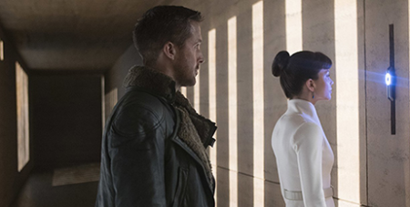 Ryan Gosling and Sylvia Hoeks in Blade Runner 2049 (Alcon Entertainment/Stephen Vaughan)