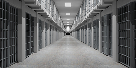 Victorian prisons under pressure from overcrowding (Bigstock)