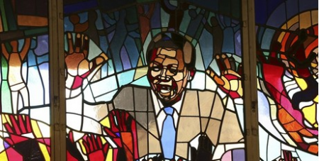 Soweto church window