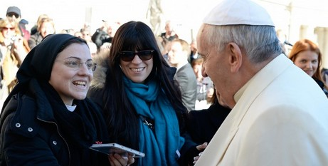 CD handover to Pope