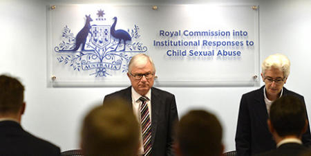 Justices Peter McClellan and Jennifer Coate (Royal commission website)