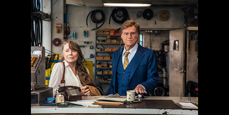Sissy Spacek and Robert Redford in The Old Man and The Gun (IMDB)