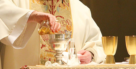 Borallon inmates will be allowed to receive diluted church wine (CNS/Gregory Shemitz)
