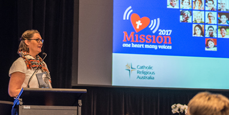 Plenary Council facilitator Lana-Turvey-Collins was an MC at the 2017 conference and will present next year (Catholic Mission)