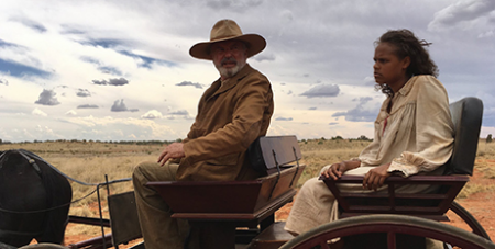 Sam Neill and Shanika Cole in Sweet Country (Facebook/Sweet Country)