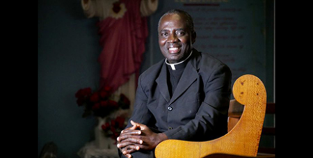 Fr Emmanual Gyamfi (ABC North Queensland/Tom Edwards)