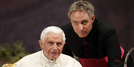 Benedict and Ganswein