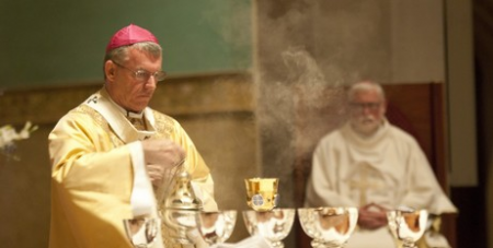 Archbishop Costelloe leads Mass