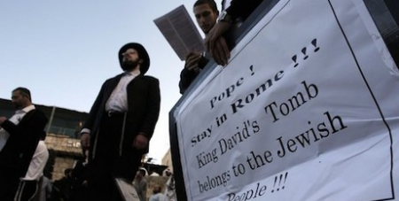 Orthodox Jews protest