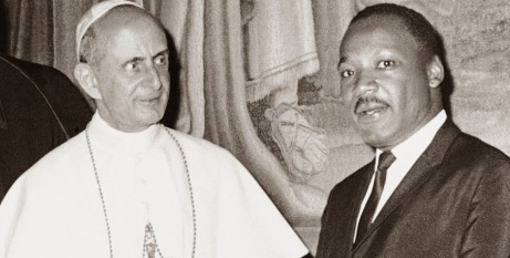 Paul VI with Martin Luther King