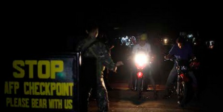 Checkpoints at Basilan