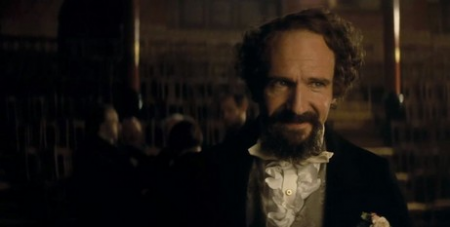 Fiennes plays Dickens