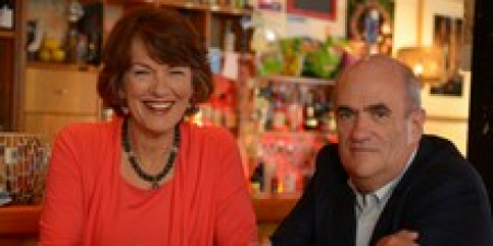 Colm Toibin and Geraldine
