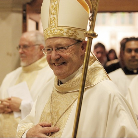Archbishop Porteous at Mass