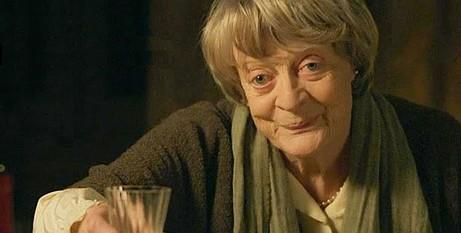 Maggie Smith in form