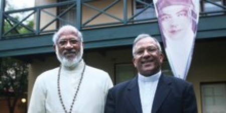 Fr Kolencherry and Bp Puthur