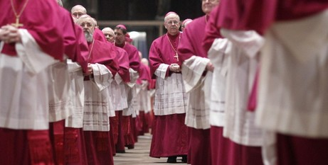 German clergy at Mass