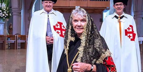 Dr Thomson after her installation
