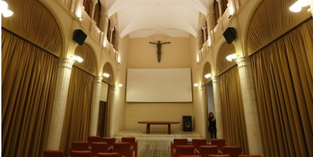 Vatican movie theatre