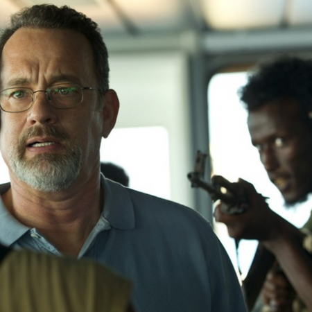 Tom Hanks as the captain
