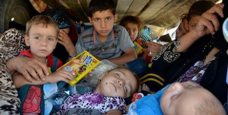 Iraqi refugees chased out of Nineveh