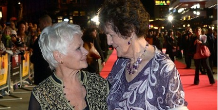 Judi Dench and Philomena Lee