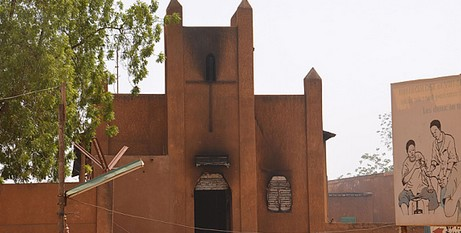Niger church remnants