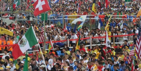 Pilgrims gather for WYD opening