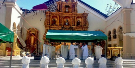 Ordination in Leyte
