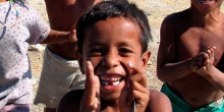 East Timorese youngster