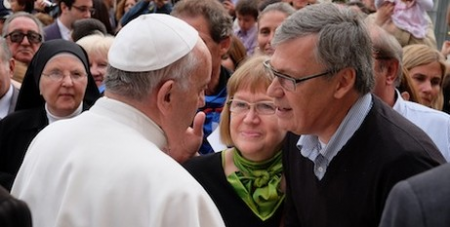 Ekman meets the Pope