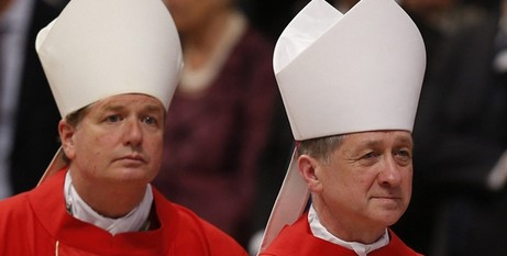 Arcbhishops Fisher and Cupich